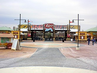 Columbus Zoo and Aquarium - Zoo entrance