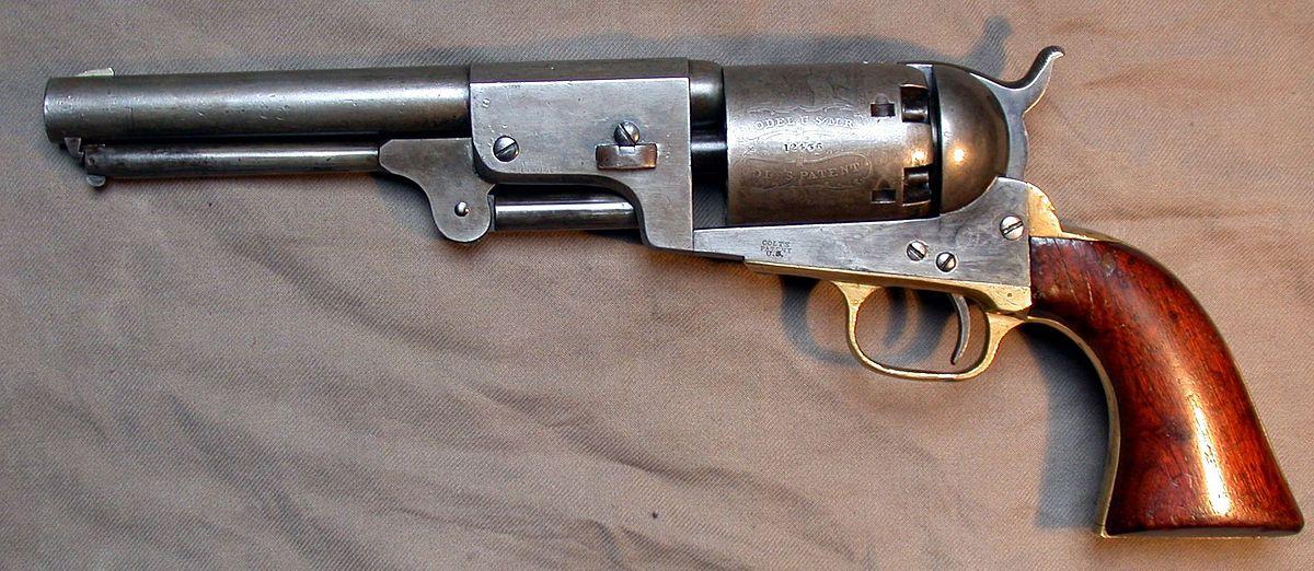 Colt Dragoon Revolver - Wikipedia