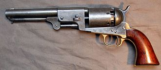 Colt Dragoon Revolver - Third Model Dragoon, U.S. Cavalry issued