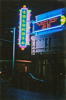Columbia Theatre for the Performing Arts - Wikipedia