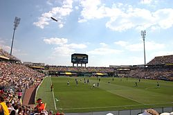 MLS All-Star Game Columbus Crew Stadiumilla vuonna 2005