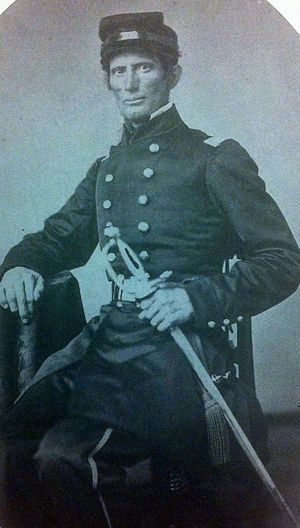 20th Indiana Infantry Regiment - Col. William Brown, creator of the 20th Indiana Volunteer Regiment and first commanding officer of the regiment.