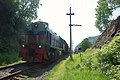 Commuter train of Circum-Baikal Railway, TEM2-5419 (32153133691).jpg