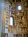 Como, basilica di sant'abbondio, cortile, interno, affreschi 03.JPG