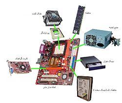 معرفی سخت افزار های اصلی کامپیوتر