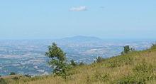 Il Conero dai monti Sibillini