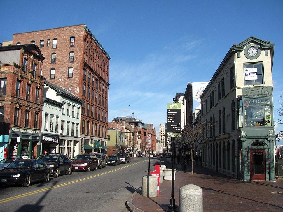 Congress Street, Portland ME