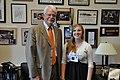 Congressman George Miller meets with Courtney von Savoye and her family (7410202198).jpg