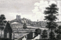 Conisbrough Castle, 1785.png