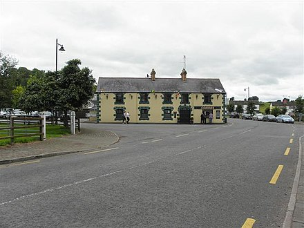 Conors pub on R189 road Conors, Three Mile House (geograph 3072206).jpg