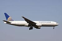 N78001 - B772 - United Airlines
