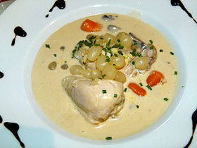 Image illustrative de l'article Coq au riesling