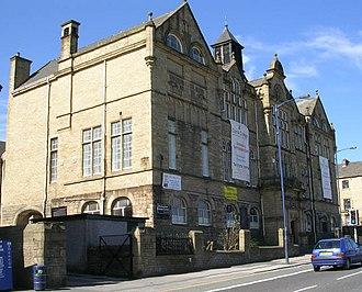 Belle Vue, Bradford - Former Belle Vue  High School for Boys