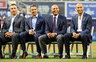 Core Four Group of New York Yankees players from the 1990s through the 2010s