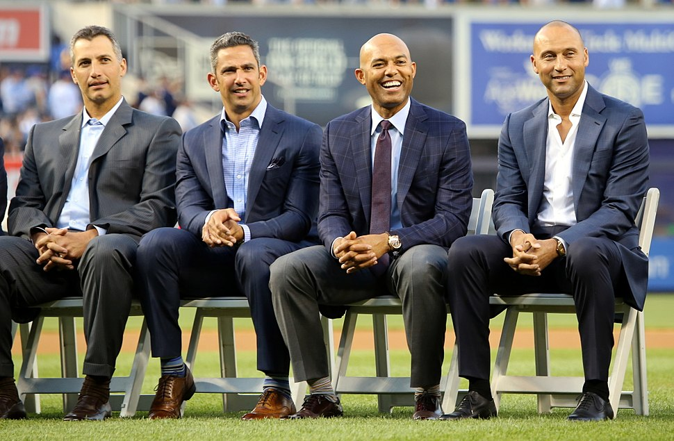 Core Four on Bernie Williams Day 2015