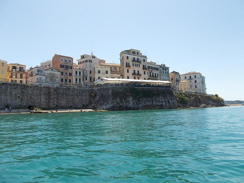 Corfu city by the sea.jpg