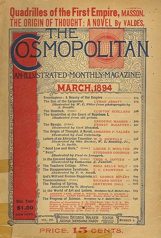 Cosmopolitan (magazine) - March 1894 issue of Cosmopolitan