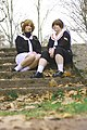 Cosplayers of Sakura Kinomoto and Syaoran Li, Cardcaptor Sakura 20111127.jpg
