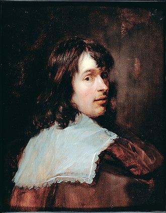 Jan Cossiers - Self portrait