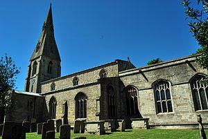 Cottesmore, Rutland - Image: Cottesmore St Nicholas