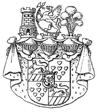 Jarlsberg - Coat of arms Griffenfeld.