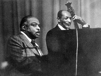 Count Basie - Count Basie (left) in concert (Cologne 1975)