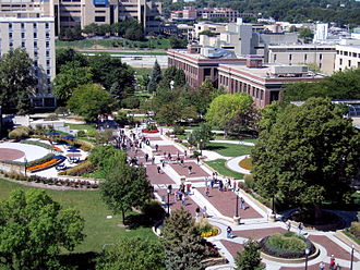 Creighton University - Image: Creighton mall west