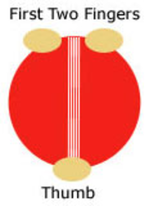Slower ball - Slower ball grip