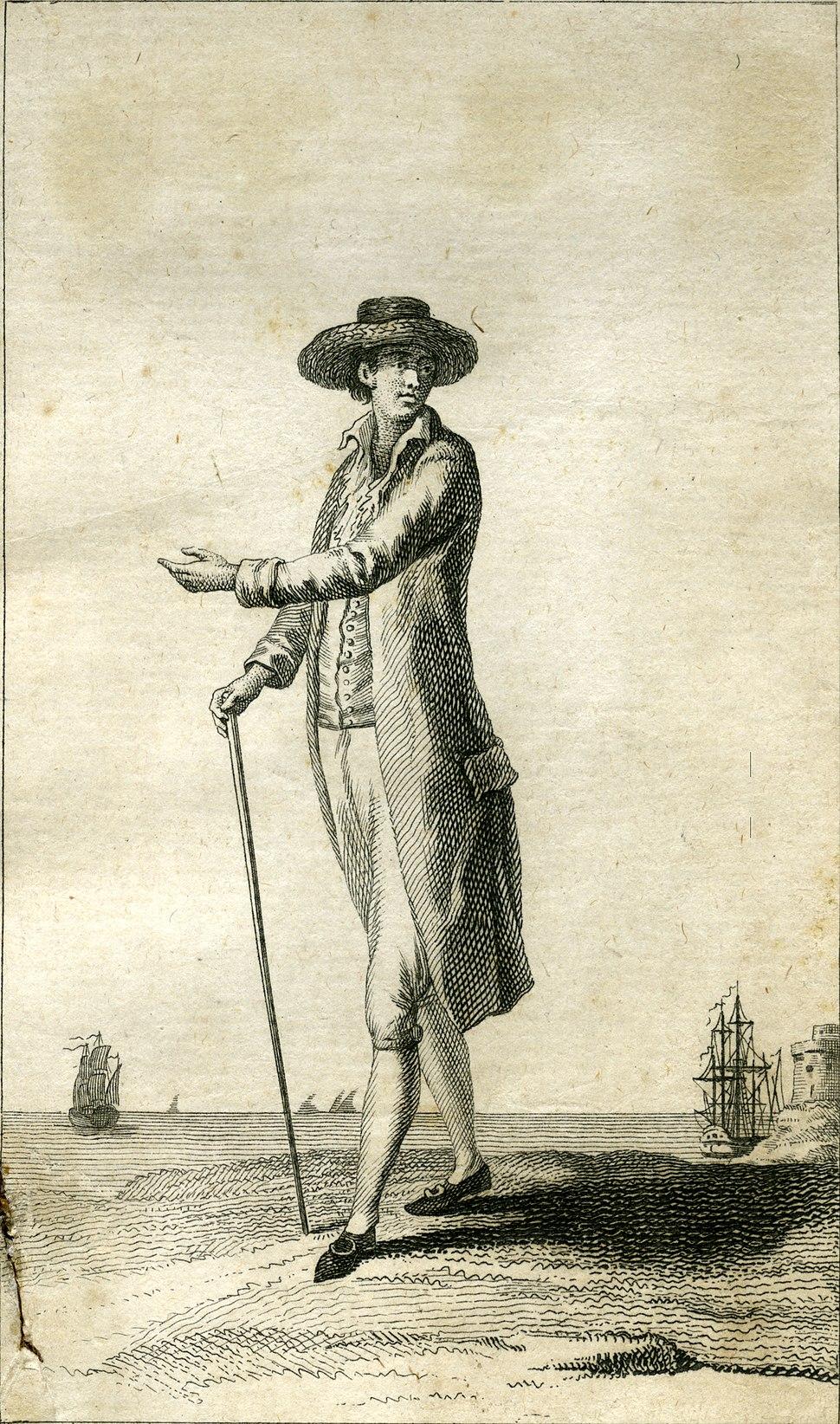 Criollo of Cartagena de Indias (Colombia) circa 1796