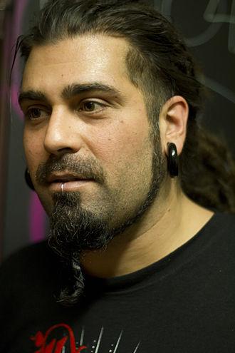 Cristian Machado - Cristian Machado before a show in 2011