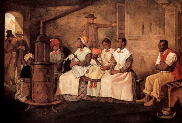 Crowe-Slaves Waiting for Sale - Richmond, Virginia