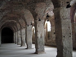 Cryptoporticus - Cryptoportico in the Roman forum at Reims, built in the third century AD