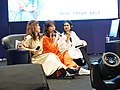 Cuisine Dimension voice actresses sitting on the sofa 20190414b.jpg