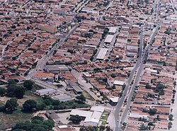 Currais Novos aerial view.