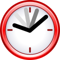Current event clock 3D.svg