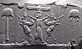 Cylinder Seal, Achaemenid, modern impression 05.jpg