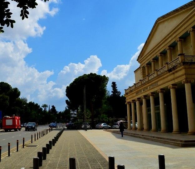 Cyprus old National Theatre Nicosia Republic of Cyprus 2