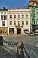Dům U zlatého stromu, U zeleného stromu, čp. 409, Horní náměstí, Olomouc.jpg