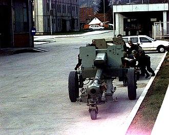 Army of Republika Srpska - D-30