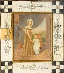 D. Amélia de Leuchtenberg e Princesa Maria Amélia de Bragança