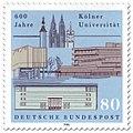 DBP 1988 600 Jahre Kölner Universität.jpg