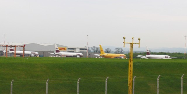 DHL freight planes - geograph.org.uk - 165255