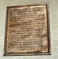 DSC02688 Milano - Lapide di Apollonio Crispi (+1595) nel chiostro di San Marco - Foto Giovanni Dall'Orto 20-jan 2007.jpg
