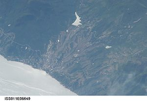 Dagomys - View of Dagomys from space.