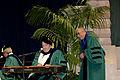 Dalai Lama Listens to Allen Toussaint and Dr John at Tulane Graduation 2013-319.jpg