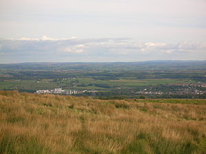 Dalry, North Ayrshire - Dalry from Baidland Hill.
