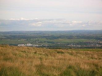 Dalry, North Ayrshire - Dalry from Baidland Hill.