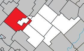 Danville Quebec location diagram.png