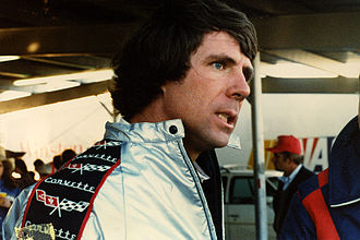 Darrell Waltrip - Darrell Waltrip, discussing his 5th-place finish and prospects for winning his first NASCAR driving championship after the Dixie 500, Atlanta Motor Speedway, November 4, 1979, driving his DiGard Gatorade Chevrolet Monte Carlo