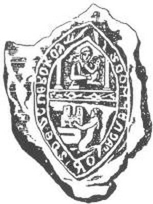 Dinaburga Castle - Image: Daugavpils seal 1275 1561